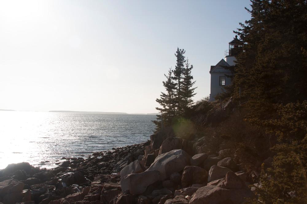 Booth Bay Light, Maine Photography Art   E. Morton Studios