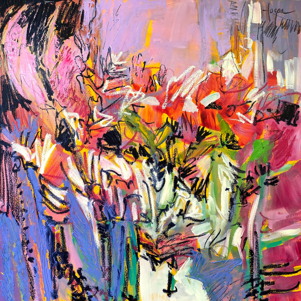 And To Everything There Is A Season Bloom Ii Art   Dorothy Fagan Joy's Garden