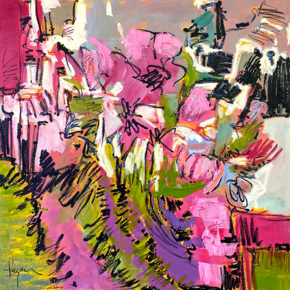And To Everything There Is A Season Bloom I  Art   Dorothy Fagan Joy's Garden
