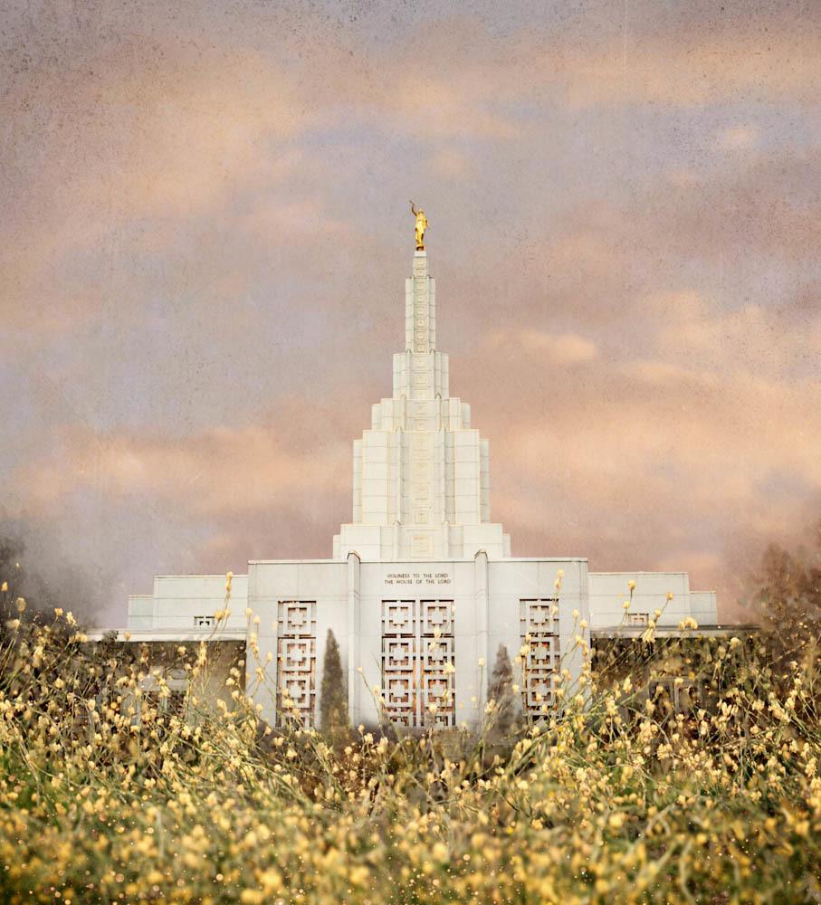 Idaho Falls Idaho Temple - Giving Rest