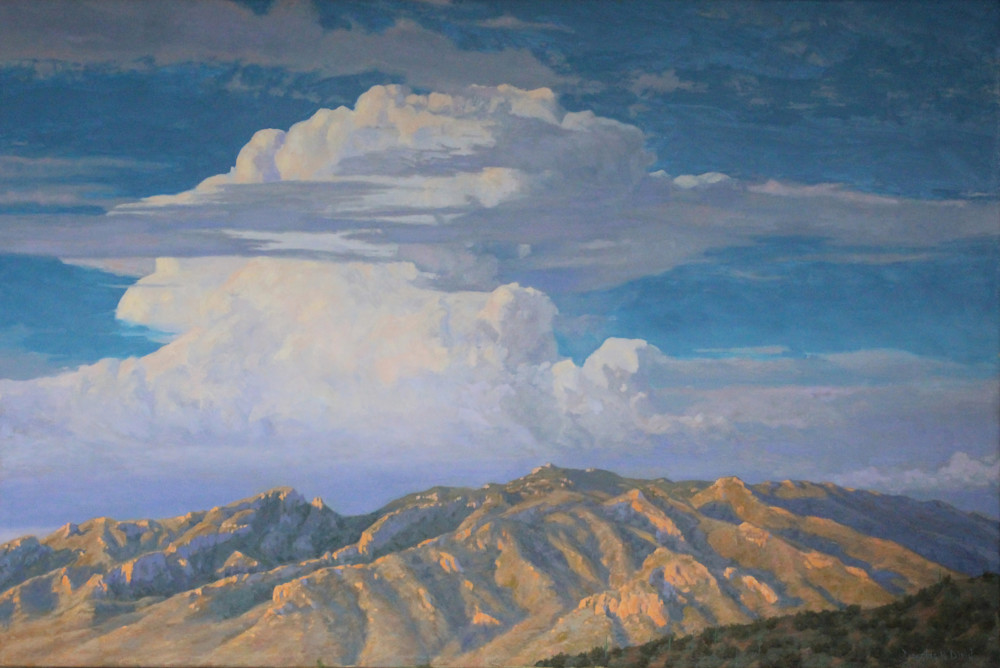 Skies Above The Catalina Mountains Art | Diehl Fine Art