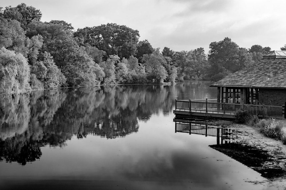 The Lake, Verona Park Photography Art | Nick Levitin Photography