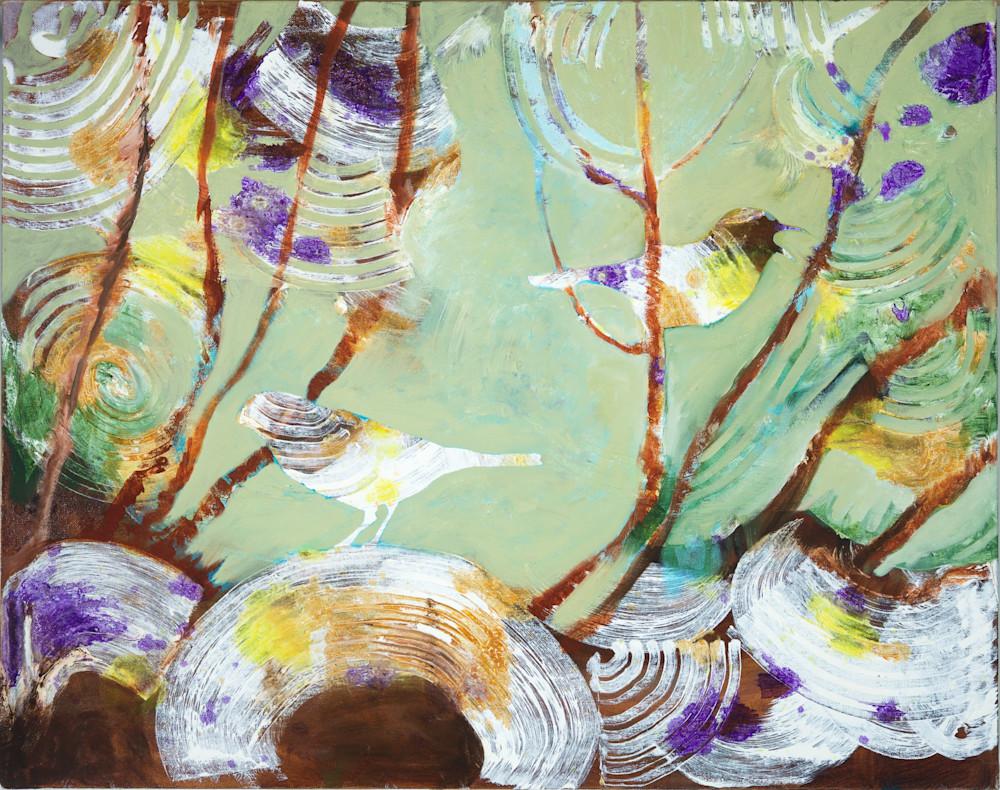 Birds In The Garden Iiii Art | V Creative Studio