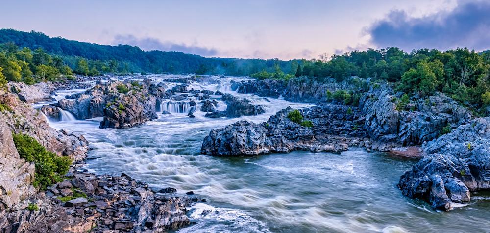 Great Falls Summer Sunrise 1