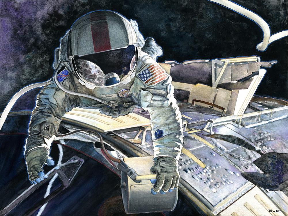 Spacewalk Art | Artwork by Rouch