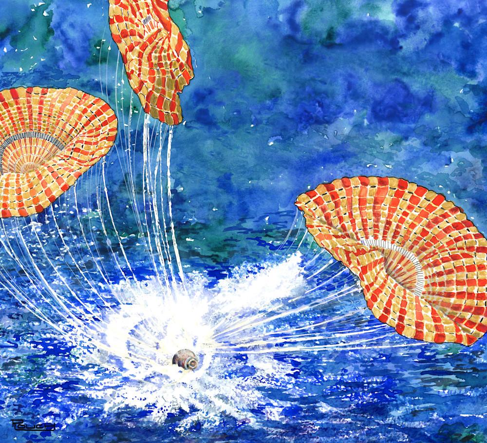 Splashdown Art | Artwork by Rouch