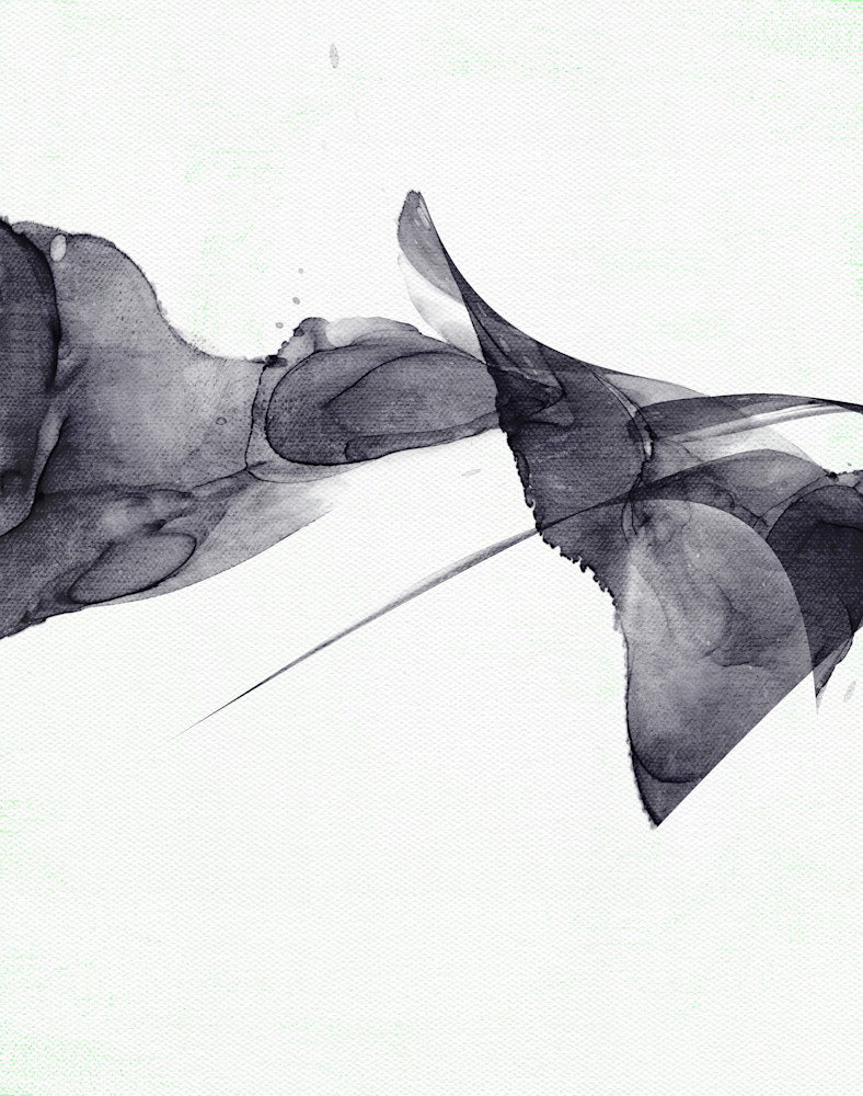 Minimalist Monochrome Abstract Painting Art   onlythemoon