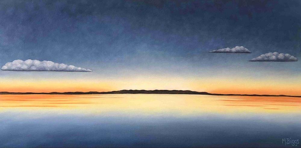 After Glow Art   Margaret Biggs Fine Art