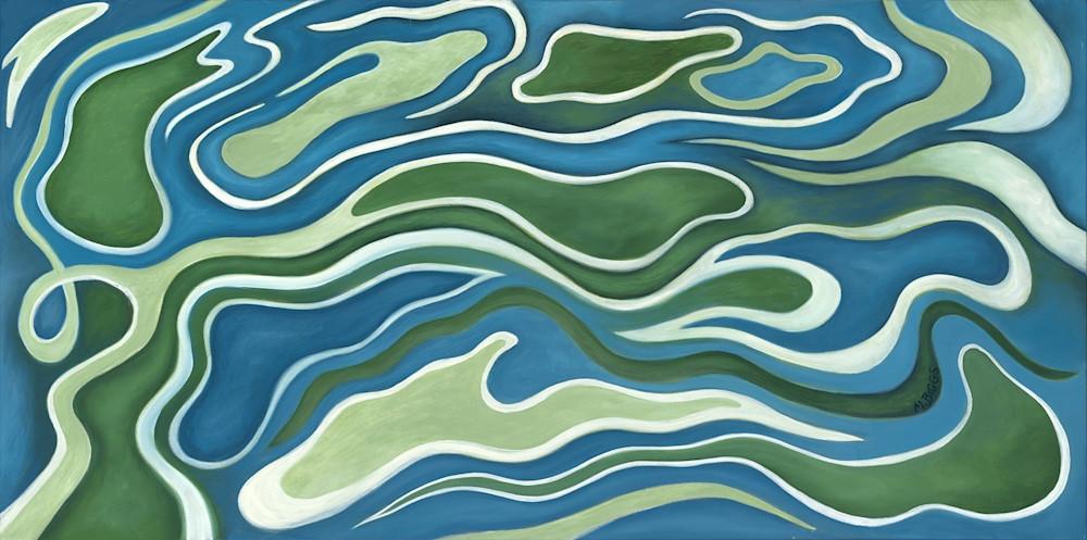 Fluidity Imagined Art   Margaret Biggs Fine Art