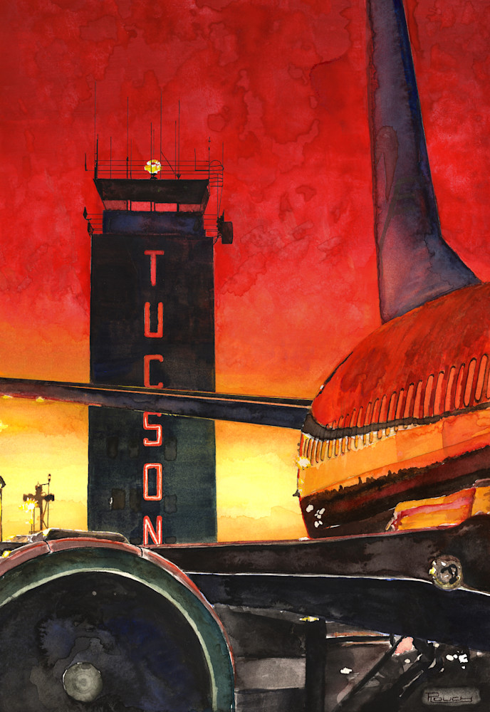 Tucson Control Tower Art | Artwork by Rouch