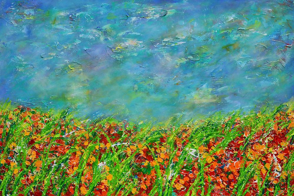 Wild Flowers Art   Anna Kim Studio
