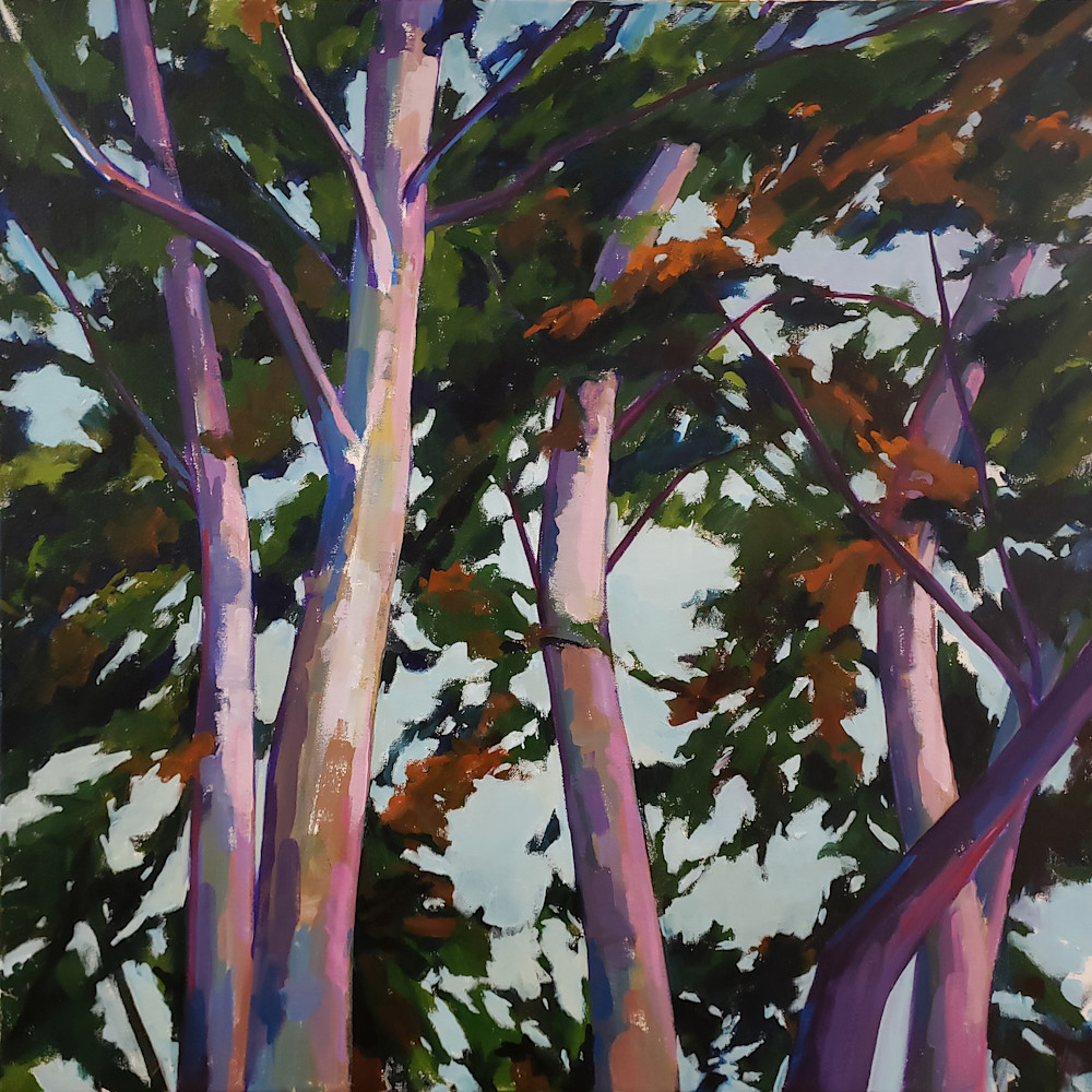 Looking Up Iv  Art | Jenn Hallgren Artist