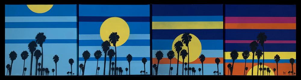 4 Sunsets, Prints Art   Jon Savage Contemporary Art