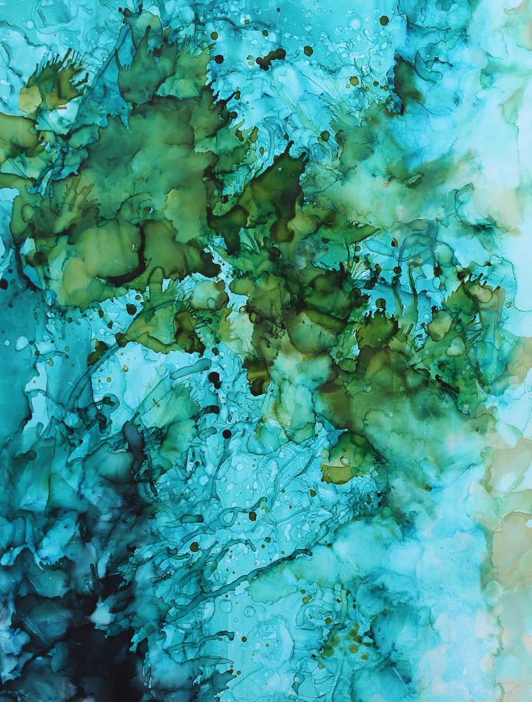 Greenish Blue Prints Art | Donna Starnes Creative
