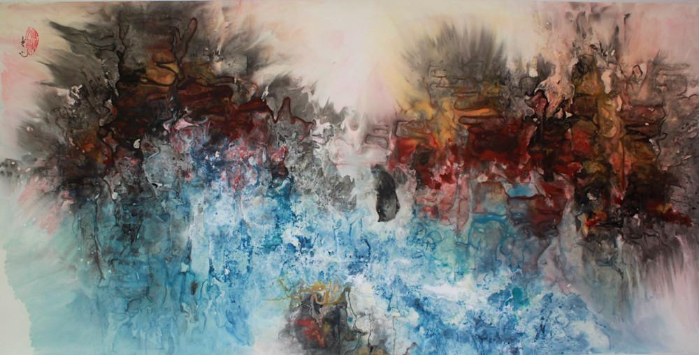 Whitewater Adventure 1  Art | Karen Kurka Jensen