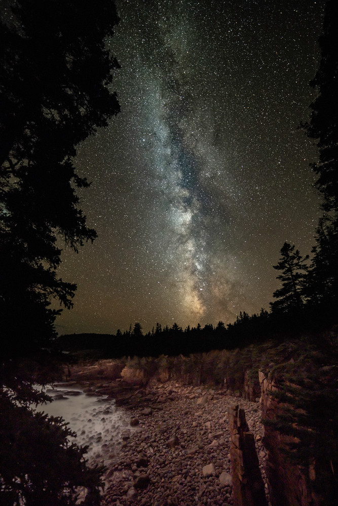 Monument Cove Milky Way Photography Art | Monteux Gallery