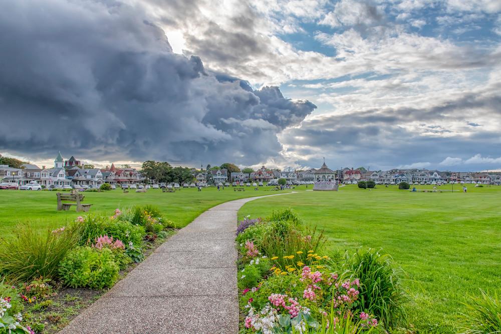 Ocean Park Storm Clouds Art | Michael Blanchard Inspirational Photography - Crossroads Gallery