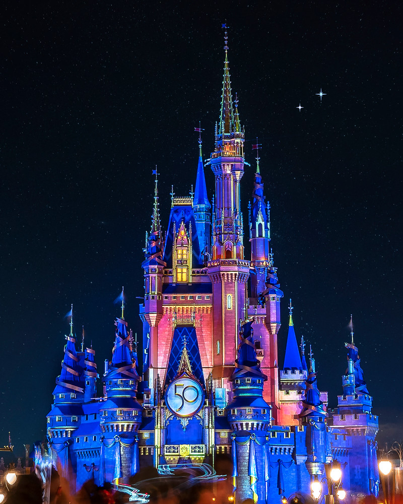 Happily Ever After Anniversary 1 - Disney Art   William Drew Photography