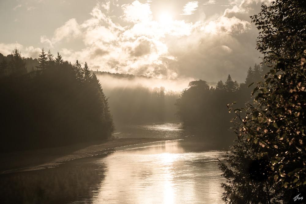Misty River Art   TG Photo