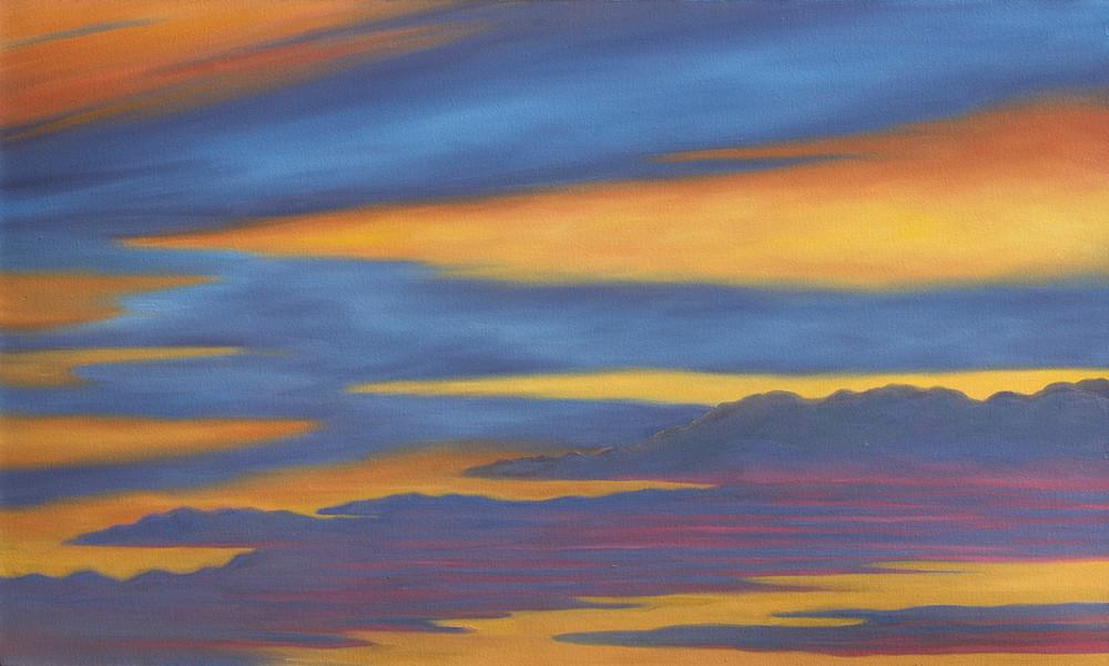 Sunset Sky Art | Margaret Biggs Fine Art