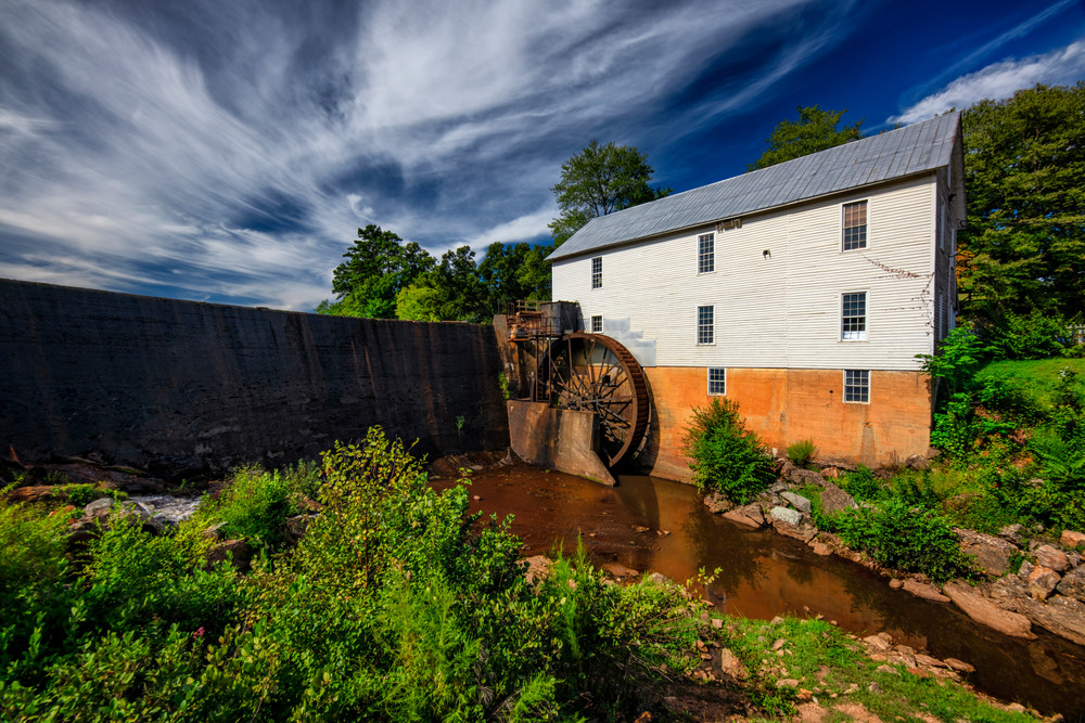 Murray's Mill - North Carolina grist mill fine-art photography prints