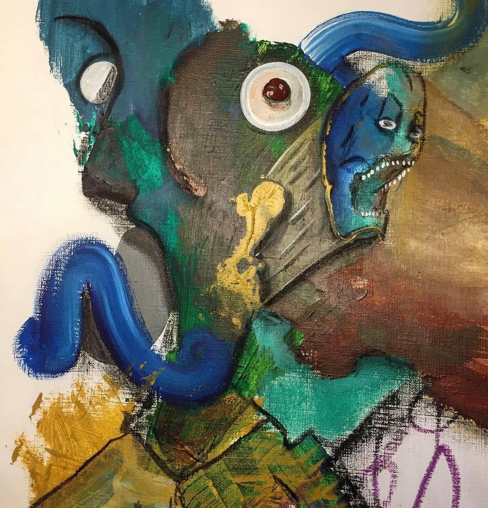 Skullface Art   Dodge Williams