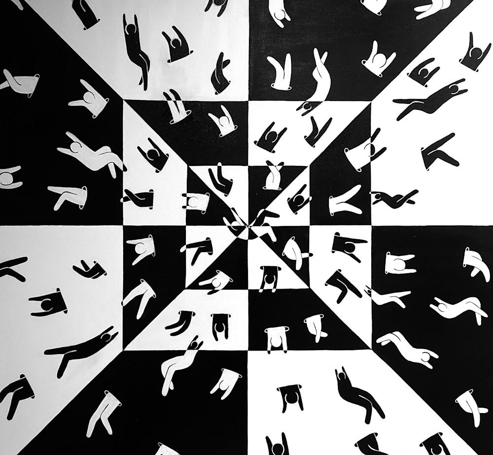 Checkers Art | Dodge Williams