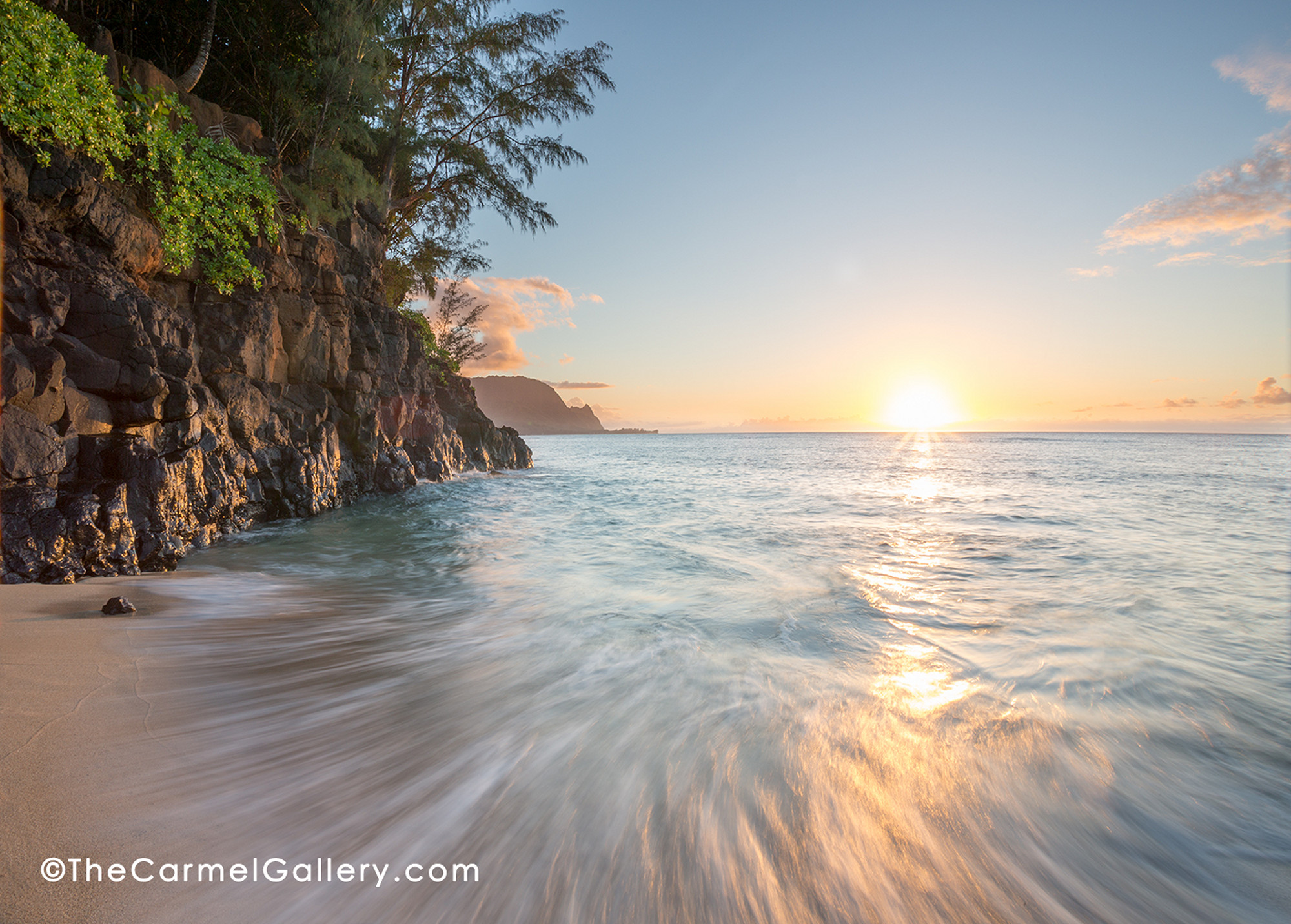 Hideaway Beach In Kauai Canvas Overlay Sml Click To Enlarge