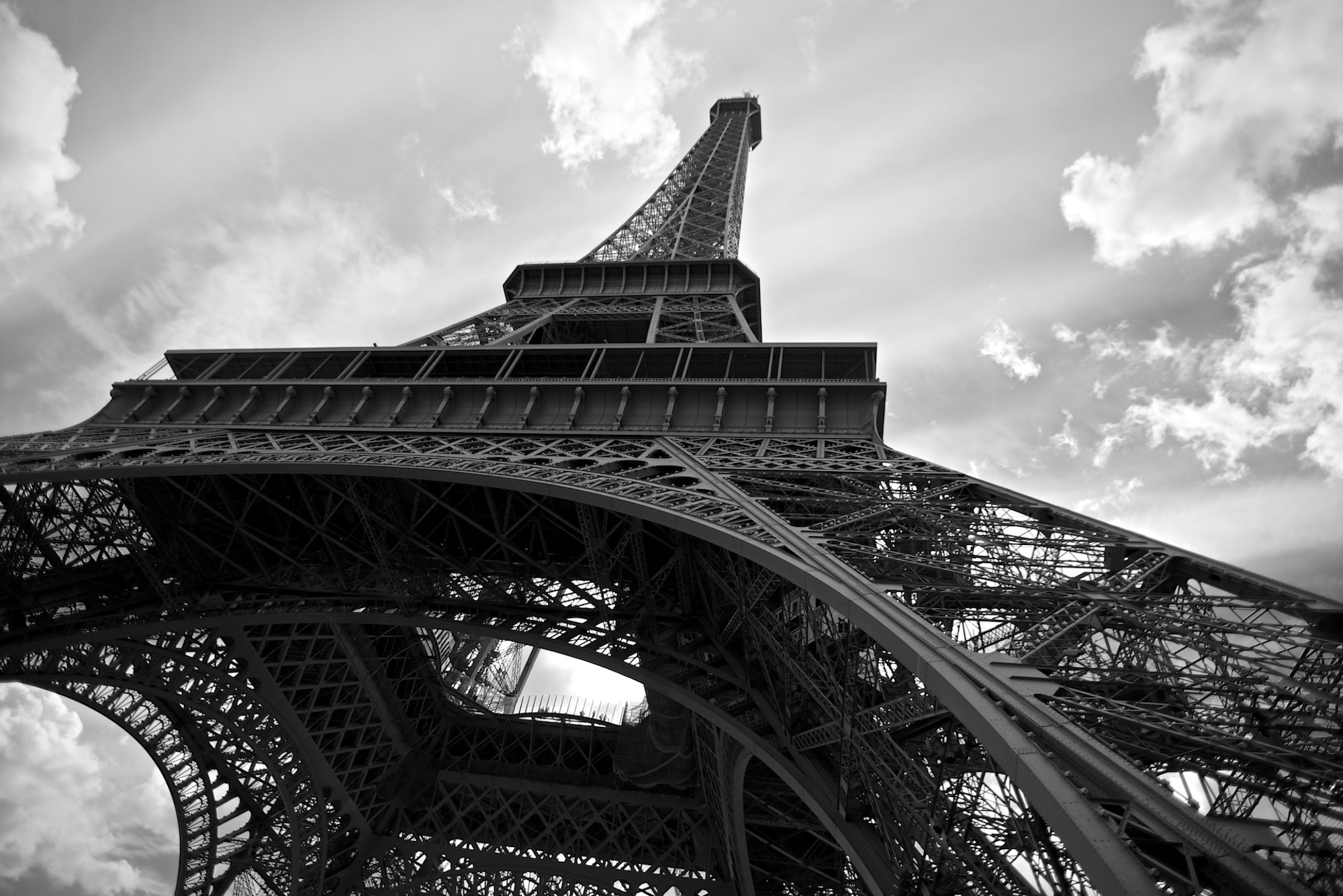 Paris france black white canvas overlay sml click to enlarge