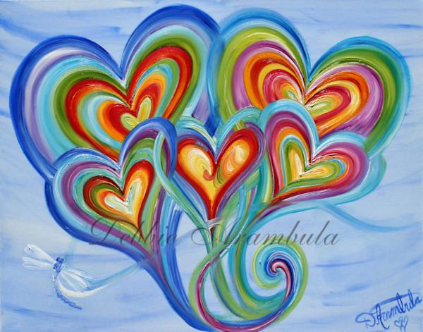 Dragonfly Family Art | Heartworks Studio Inc