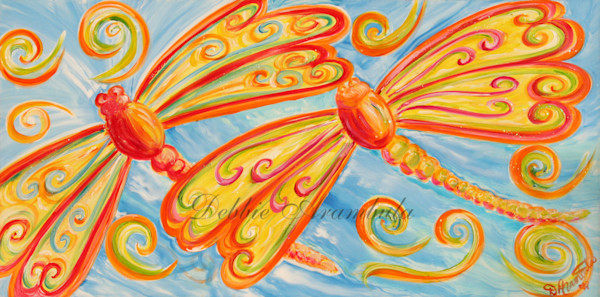 Dragonfly Dances Art | Heartworks Studio Inc