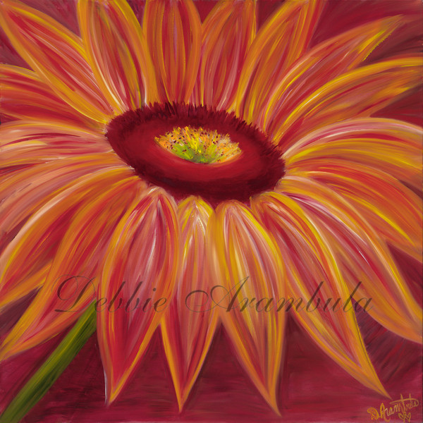 Rebirth Of The Sunflower Ii Art | Heartworks Studio Inc