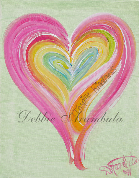 Inspire Kindness Art | Heartworks Studio Inc