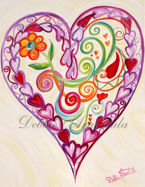Lockets Of Love Art | Heartworks Studio Inc