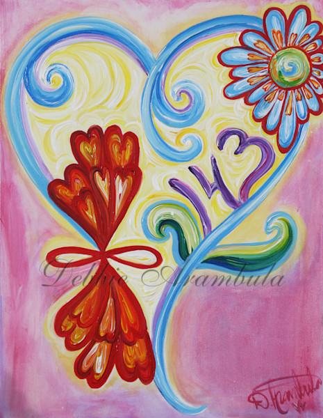 143 Means I Love You Art | Heartworks Studio Inc