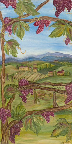 Tuscany Dreams Art | Heartworks Studio Inc