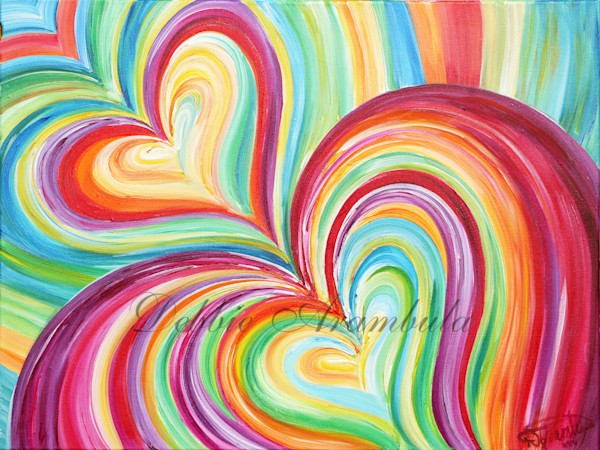 Enveloping Love Art | Heartworks Studio Inc