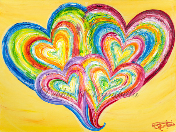 Deep Love Connection Art | Heartworks Studio Inc