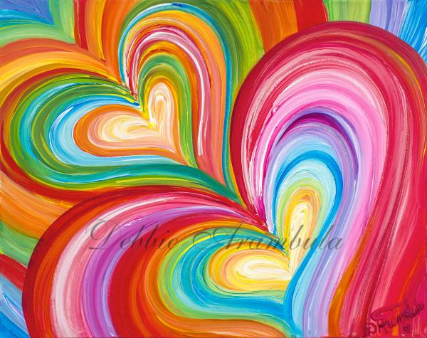 Best Friends Forever Art   Heartworks Studio Inc