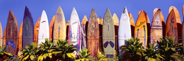 Hawaii Fine Art Photography Where Old Surfboards Go By Randy J Braun