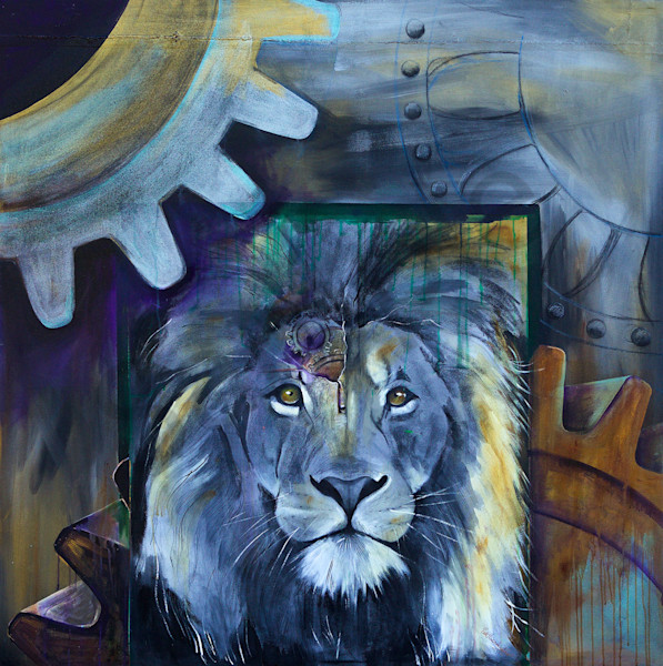 """Courage"" by artist Patti Hricinak-Sheets 