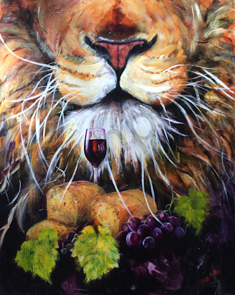 """Lion Of Judah"" by Grace Bailey 