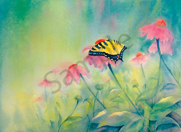 """Fluttering To Freedom"" by Judy Johnson 