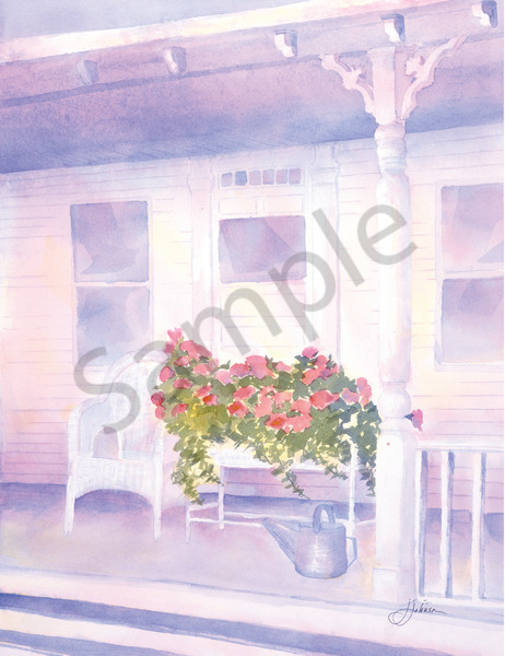 """Summer Porch"" by Judy Johnson | Prophetics Gallery."