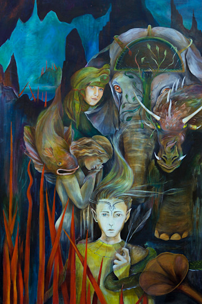 """""""The Journey"""" by Patti Hricinak-Sheets 
