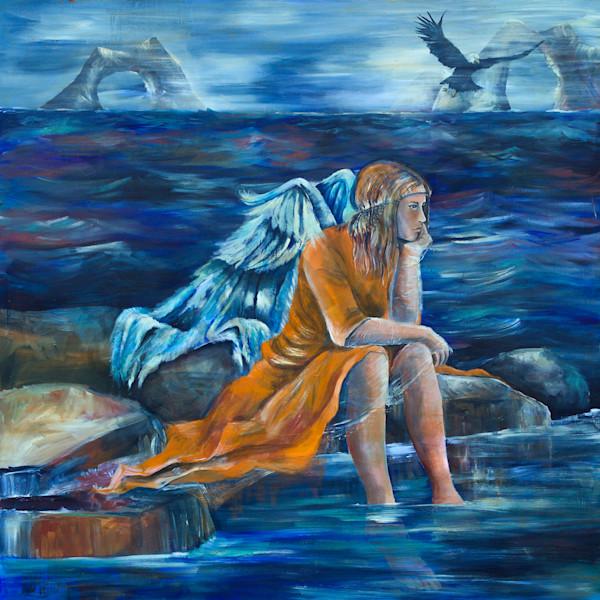 """Isaiah 40:31"" by North Carolina Artist Patti Hricinak-Sheets | Prophetics Gallery."