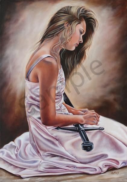 """Rebecca"" by South Africa Artist Ilse Maria Kleyn | Prophetics Gallery"