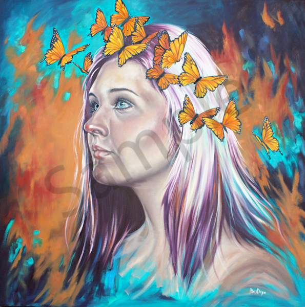 """Crown Of Transformation"" by South Africa Artist Ilse Kleyn 