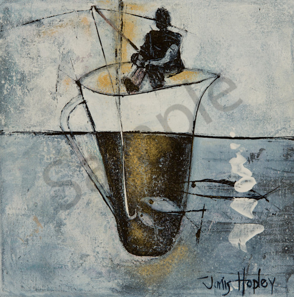 """Gone Fishing"" by Janis Lane-Hopley 