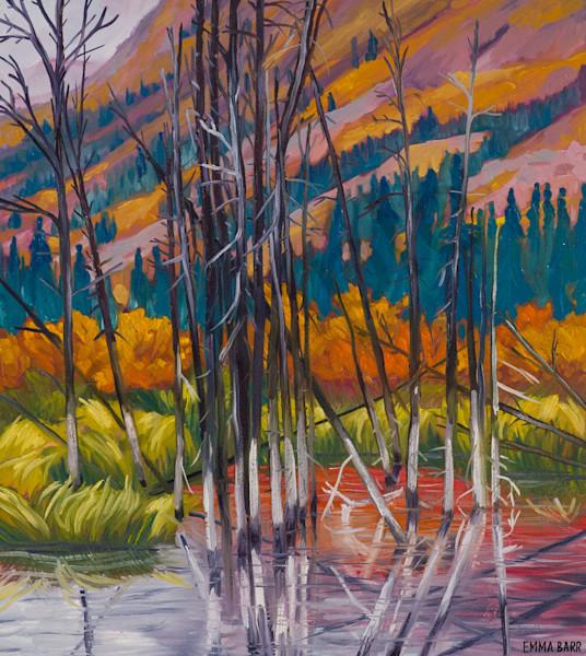 Reflected | Deluxe Canvas Print | Emma Barr Fine Art